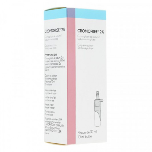 Cromofree 2% collyre 10ml