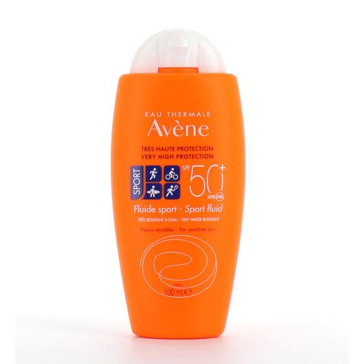 Avène Fluide Solaire Sport SPF 50+ en 100 ml