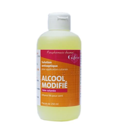 Gifrer alcool modifié solution 250 ml