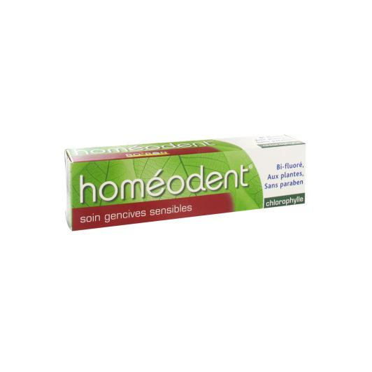 Homéodent Dentifrice Soin gencives sensibles Chlorophylle