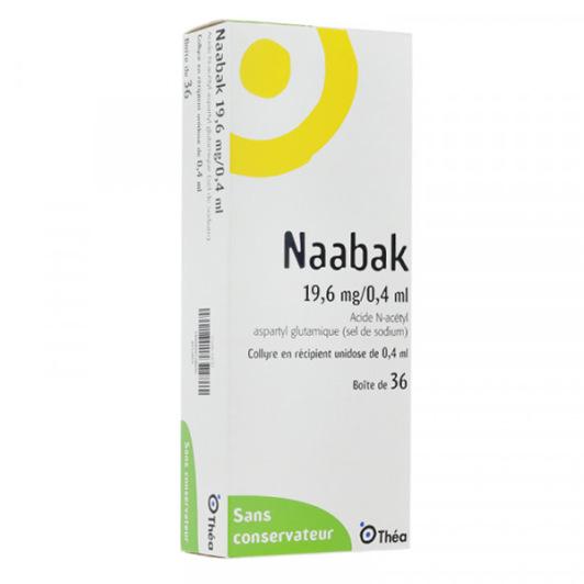 Naabak 19.6mg / 0.4ml collyre 36 unidoses