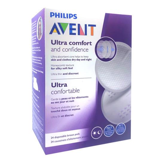Philips avent ultra comfort coussinets d'allaitement jetable x24