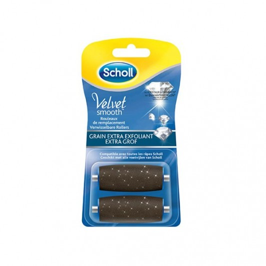 Scholl recharges Velvet Smooth 2 rouleaux