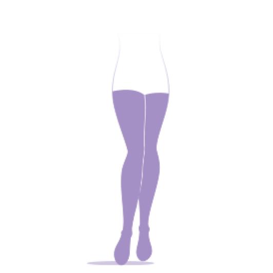 Sigvaris Essentiel semi transparent Chaussettes classe 2
