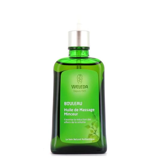 Weleda huile de massage minceur
