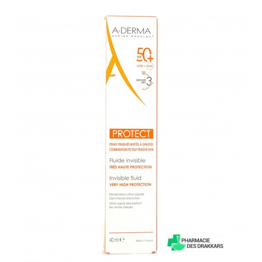 Protect fluide Invisible SPF 50+ en 40ml