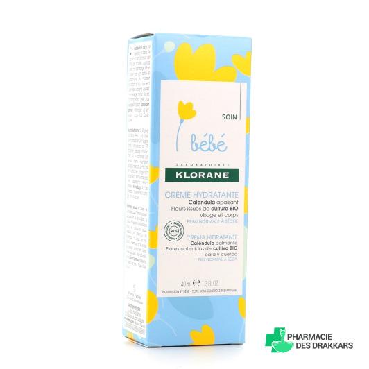 Klorane Bébé Crème Hydratante
