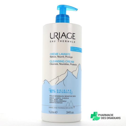 Uriage crème lavante 1 litre