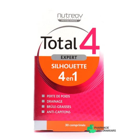 Nutreov Total 4 Expert Silhouette 4en1 Boîte 30 comprimés