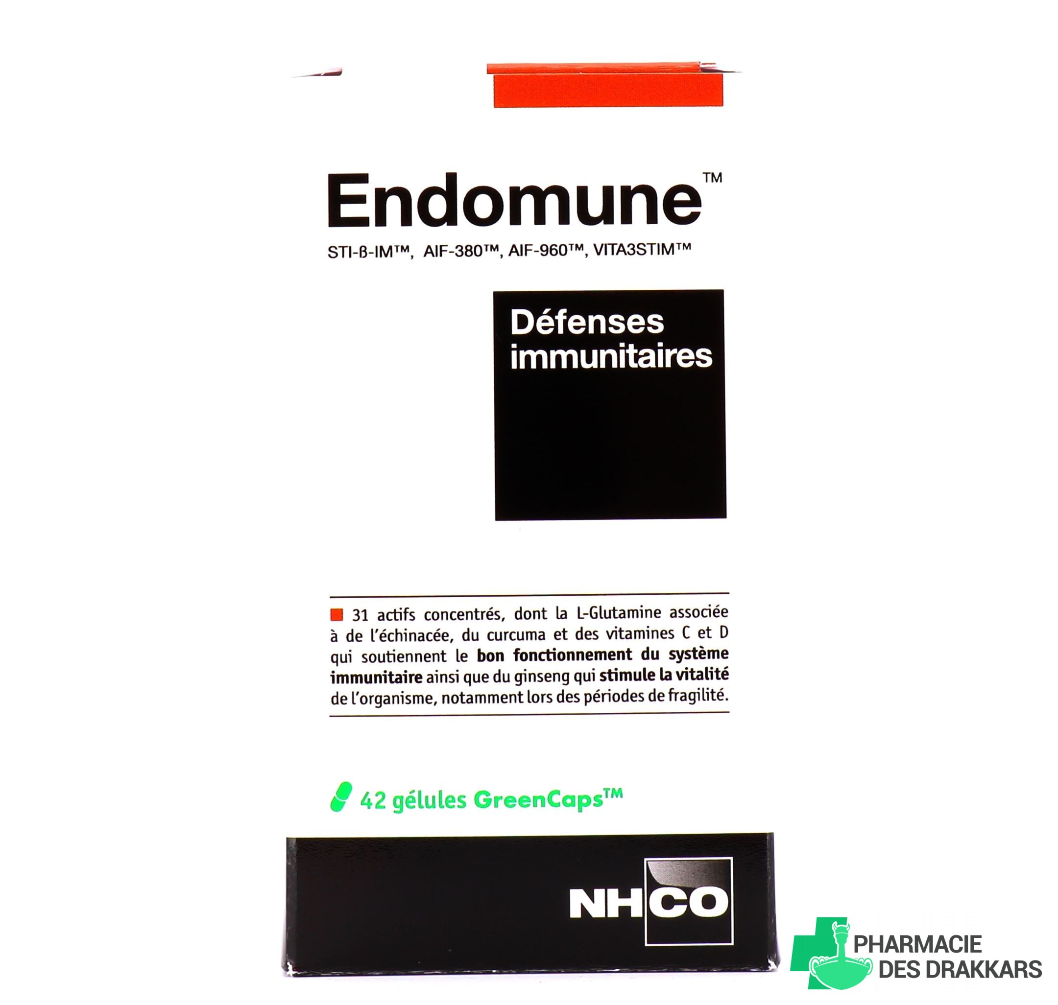 Endomune Défenses immunitaires NHCO - NHCO | Pharmacie des ...