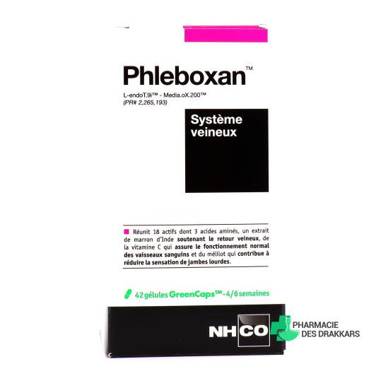 Phleboxan Système veineux 42 gélules NHCO