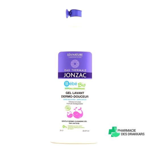 JONZAC Bébé Bio Gel lavant dermo-douceur 1L