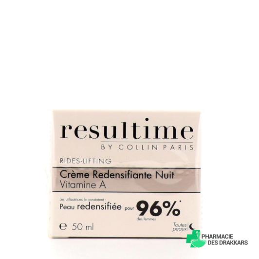Resultime Crème redensifiante Nuit Vitamine A 50ml