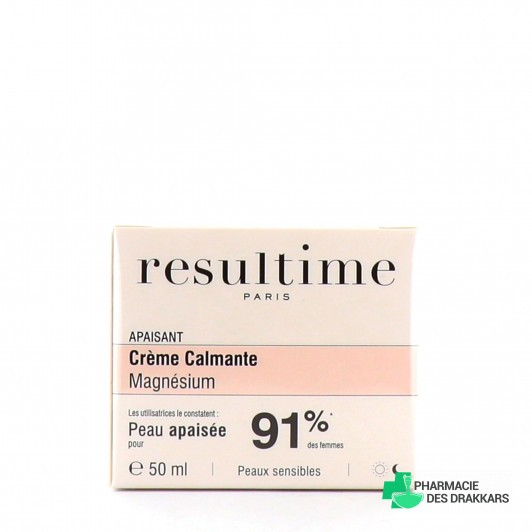 Resultime Crème calmante au magnésium