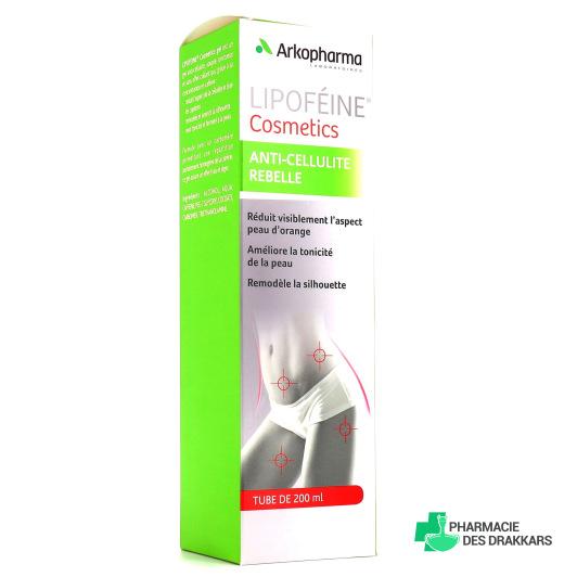 Lipoféine cosmetics anti-cellulite rebelle en 200 ml