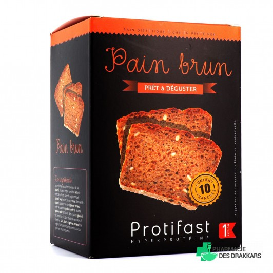 Protifast Pain Brun 10 tranches x50g