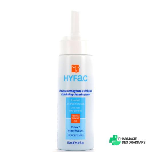 Hyfac mousse nettoyante aux AHA 150 ml