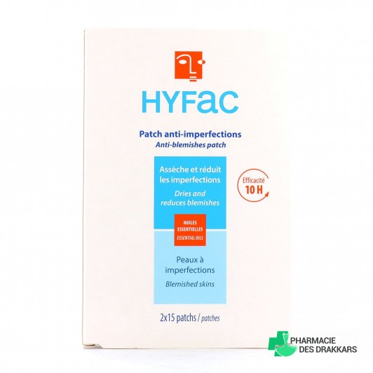 Hyfac spécial imperfections 30 patchs