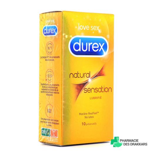 Durex - Natural sensation - Boîte de 10