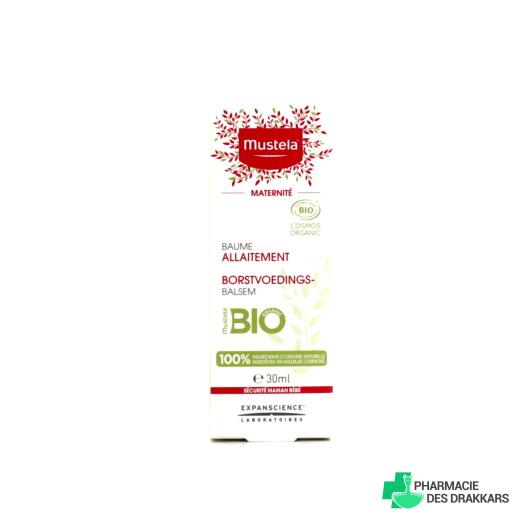 Mustela Baume allaitement Bio