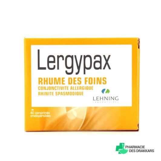 Lehning Lergypax 40 comprimés