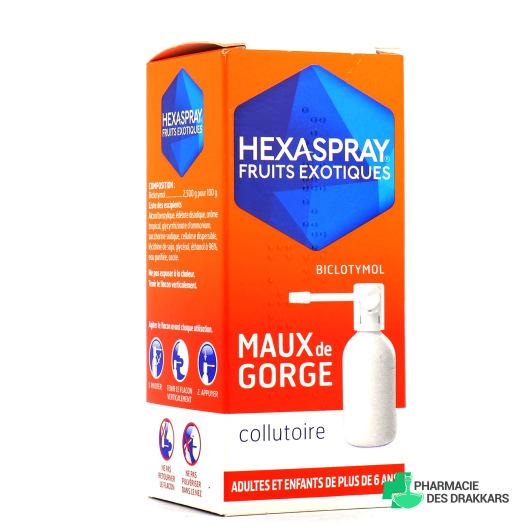 Hexaspray collutoire maux de gorge