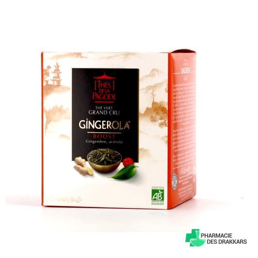 Thé de la Pagode - Gingerola Bio Boost - 30 sachets Pagode