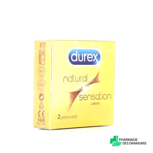 Durex Natural Sensation Préservatifs