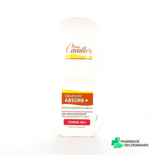 Déodorant Absorb+ Homme 48h