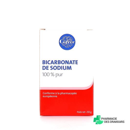 Gifrer Bicarbonate de sodium en poudre